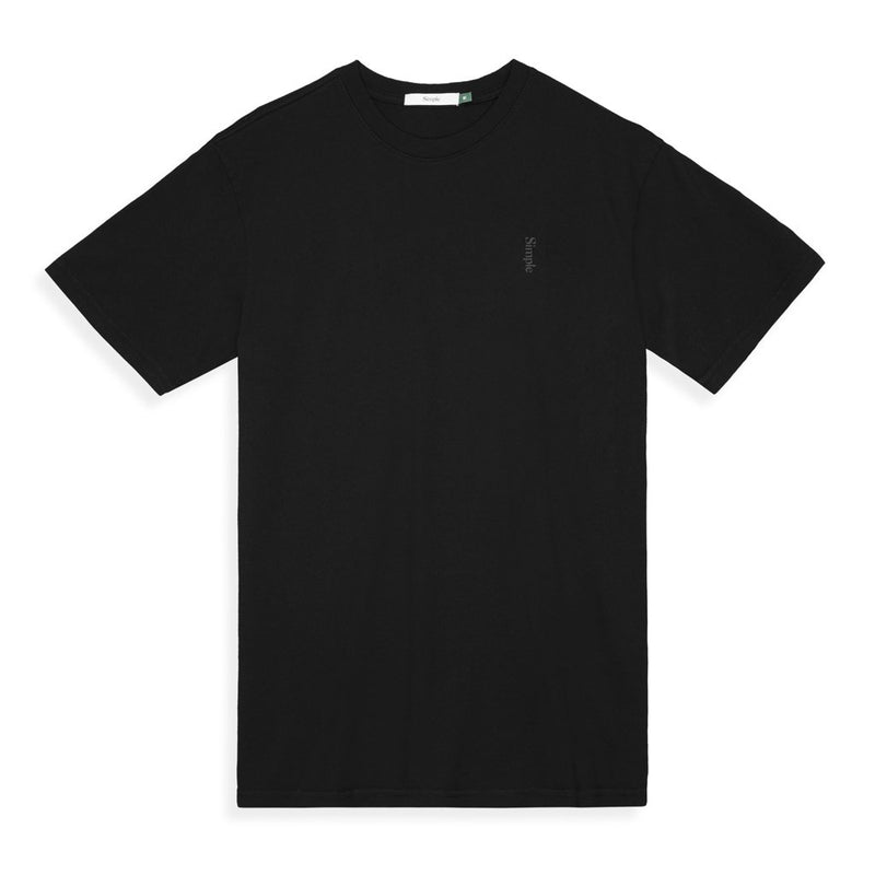 Color:Black-Simple Logo Tee