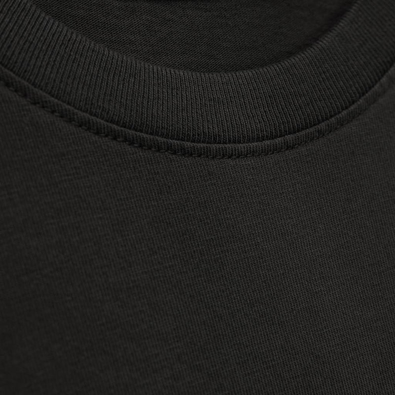 Color:Charcoal-Simple Logo Tee