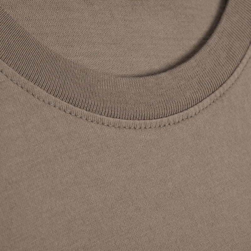 Color:Sand-Simple Logo Tee