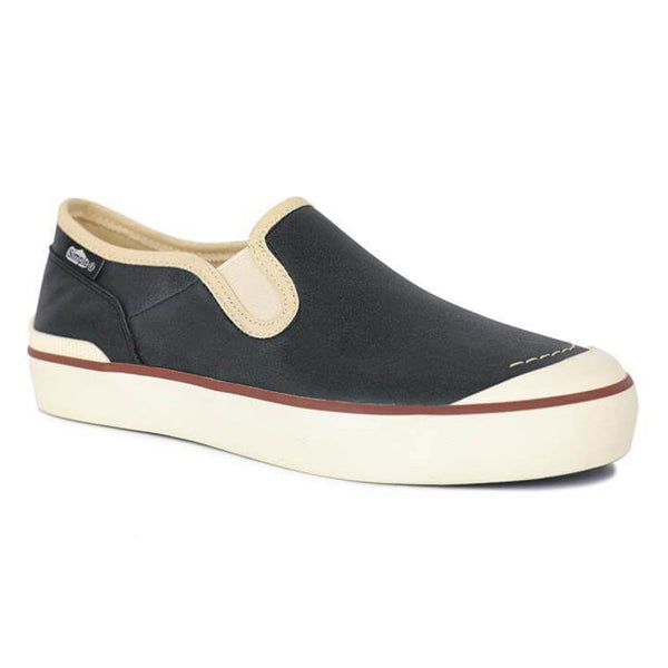 Color:Black-Simple Edward Leather Slip On -alt
