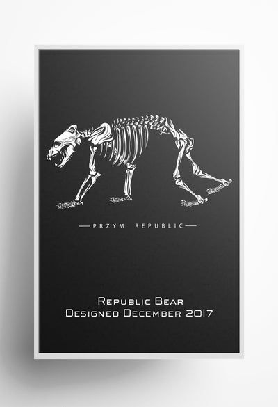 Republic Bear Print