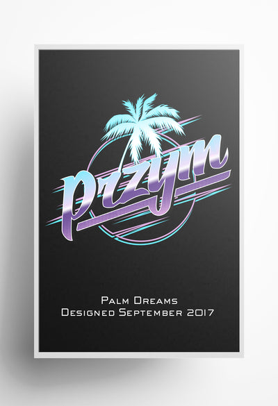 Palm Dreams Print