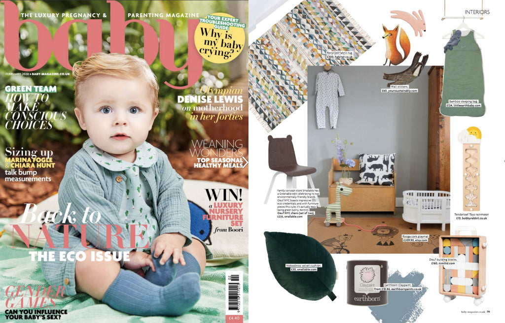 NiMi Projects Dou Toy Carry Me Blocks featured in Baby magazine