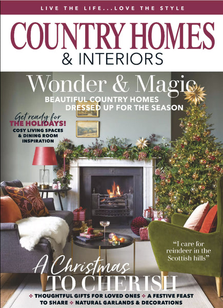 Country Homes & Interiors cover