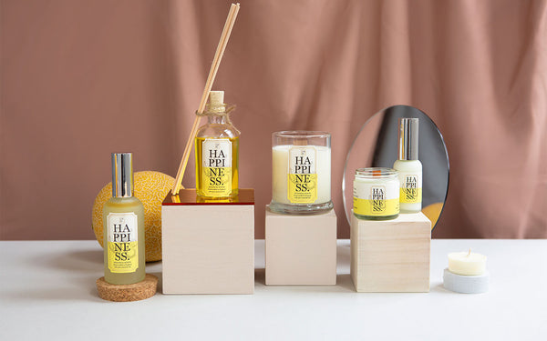 Happiness room fragrances by Elm Rd.