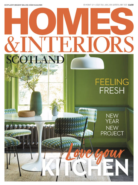 Homes & Interiors Scotland magazine cover