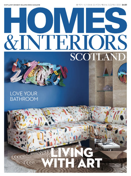 Homes & Interiors magazine cover
