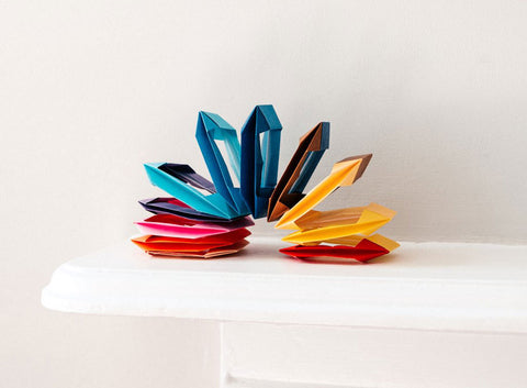 NiMi Projects origami workshop slinky