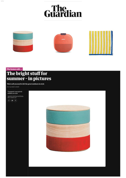 NiMi Projects Hatashikki Border Box as featured in The Guardian's Home Edit