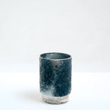 ASEMI KASAMA  blue Japanese artisanal stoneware  cup MADE IN JAPAN