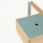 This handy addition for Atelier Yocto's Okamochi box, slots perfect inside to protect contents and has a central hole for easy removable. Available at NiMi Projects, UK.