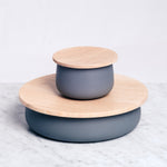 HATASHIKKI TRICOT CLOUD BOX, HANDCRAFTED WOOD BY LACQUERWARE ARTISANS, JAPANESE DESIGN, MADE IN JAPAN