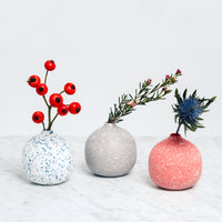 Moheim ceramic Colour Drop Vases, Japanese minimalist design