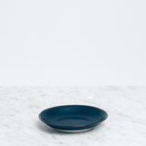 Nishiyama Blue porcelain Fosco Plate, Japanese  design, made in Japan