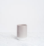 Grey Asemi Hasami Cup large, Japanese Hasami porcelain, made in Japan