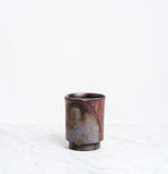 Asemi Bizen cup large, handcrafted Japanese pottery, made in Japan