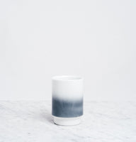 Grey Asemi Hasami Gradation Cup large, Japanese Hasami porcelain, MADE IN JAPAN