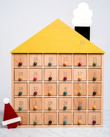 kiko+ and gg apartment 31 wooden advent calendar made in japan