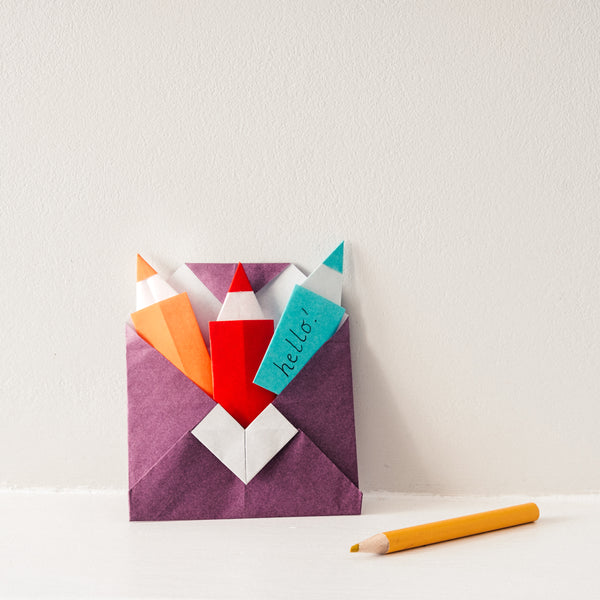 KIDS' ZOOM PEN PAL ORIGAMI WORKSHOP KIT 20TH FEB (SAT)