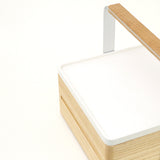 White Atelier Yocto Tray, handcrafted using traditional Japanese carpentry techniques and available at Nimi Projects, UK.