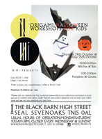 HALLOWEEN ORIGAMI WORKSHOP KIDS SEVENOAKS SEAL NIMI PROJECTS