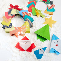 ORIGAMI CHRISTMAS DECORATING WORKSHOP NIMI PROJECTS SEAL SEVENOAKS