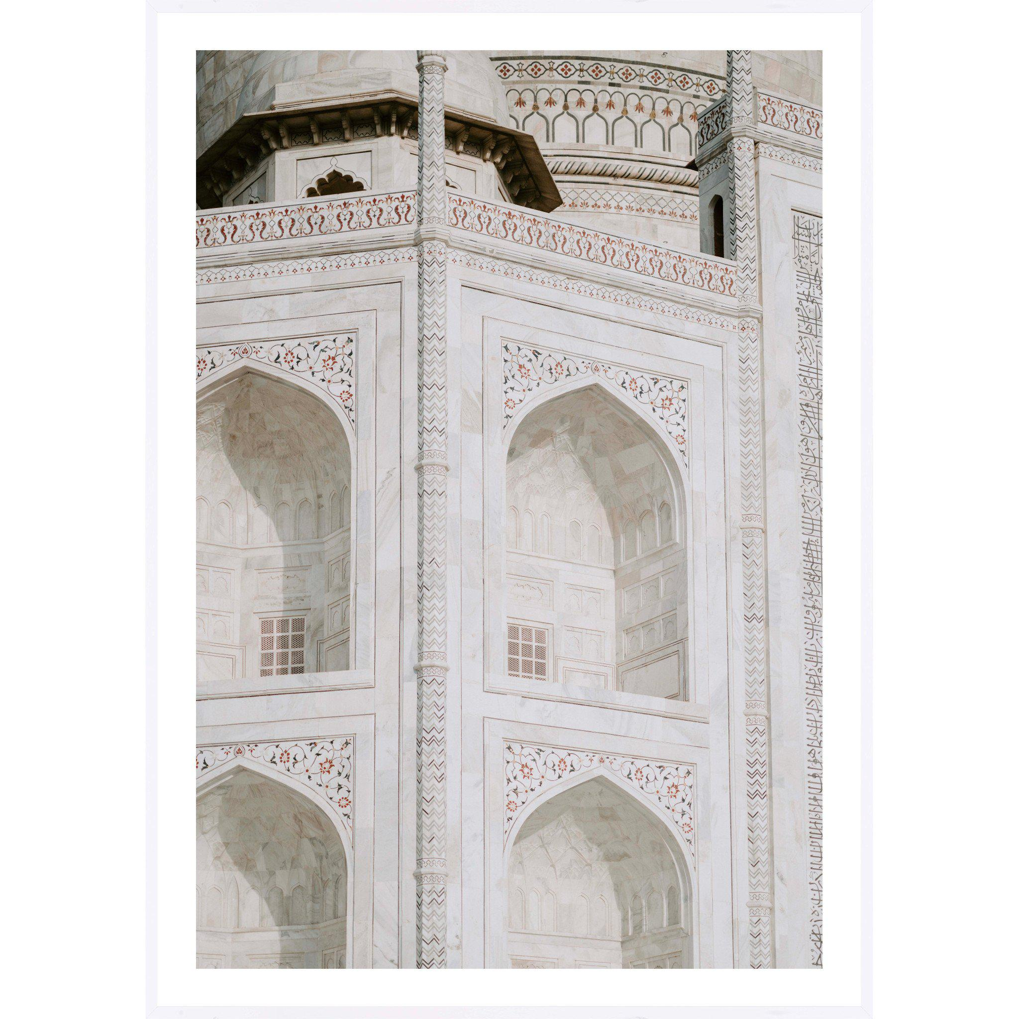 The Taj - Art Print, Portrait - mykodu