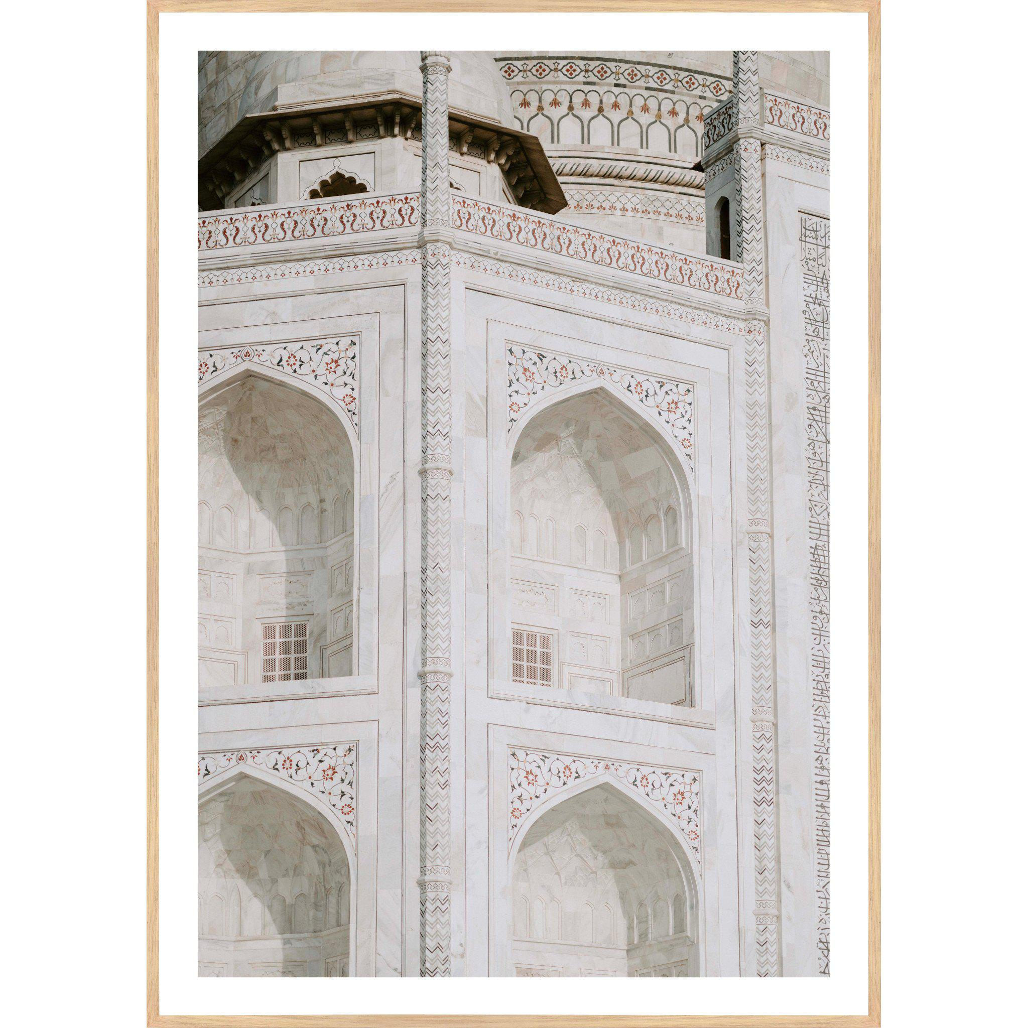 The Taj - Art Print, Portrait