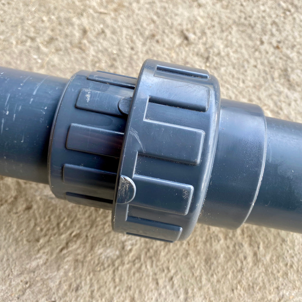 50mm Union - Solvent Weld - WaterFeature.Shop