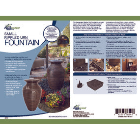 Aquascape UK Rippled Urn Small - WaterFeature.Shop