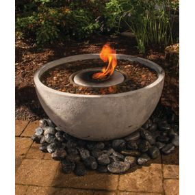 "Fire Fountain 24"" - WaterFeature.Shop"