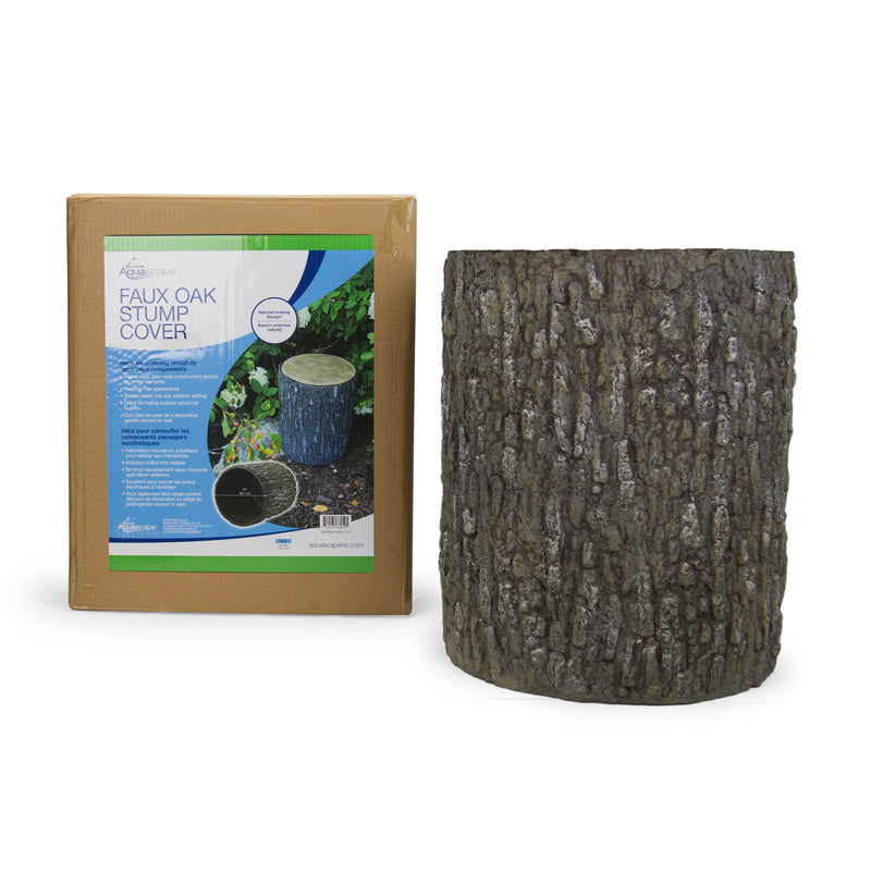 Aquascape UK Faux Oak Stump Cover - WaterFeature.Shop