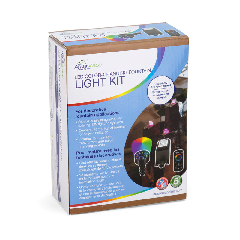 Aquascape UK LED Colour Changing Fountain Light Kit - WaterFeature.Shop