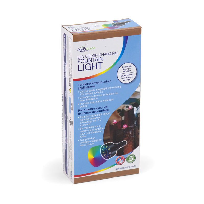 LED COLOUR-CHANGING - 2 Watt Fountain Light - UK - WaterFeature.Shop