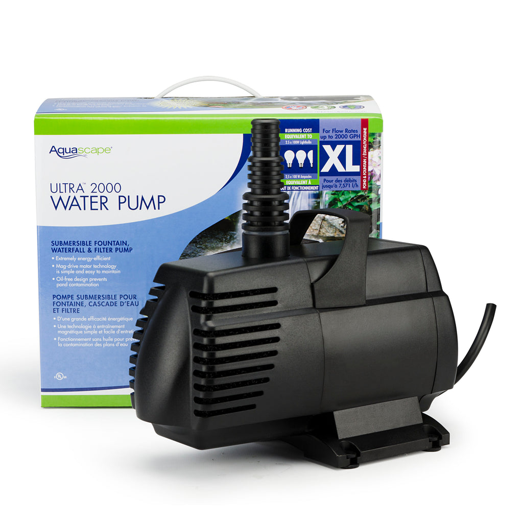 Pond Pump - ULTRA 2000 WATER PUMP - Aquascape - UK - WaterFeature.Shop