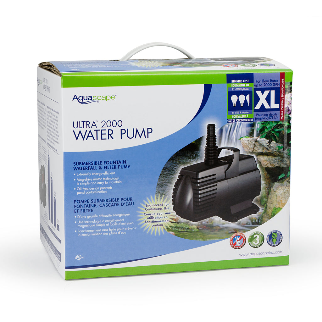 ULTRA 2000 - Water Feature Pump - WaterFeature.Shop