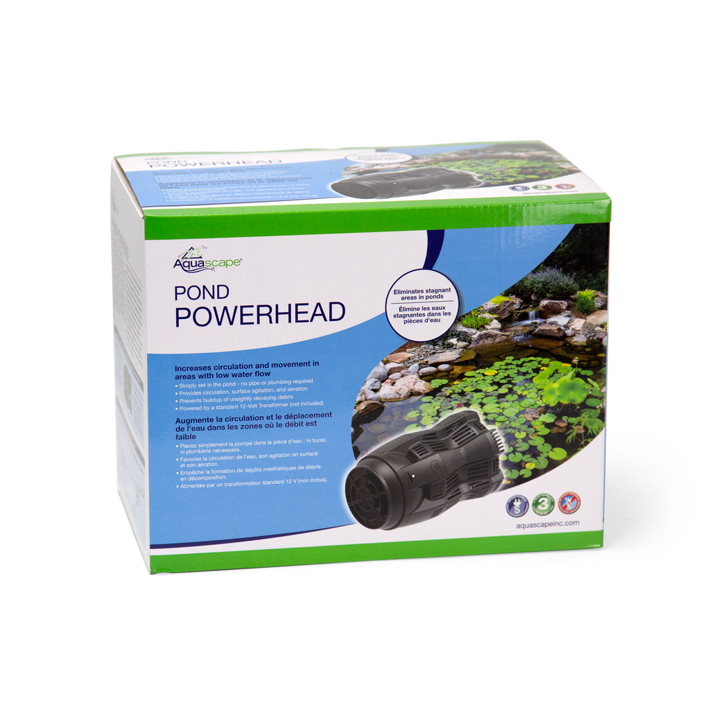 POND POWERHEAD - Aquascape - UK - 12 V Pond Pump - WaterFeature.Shop