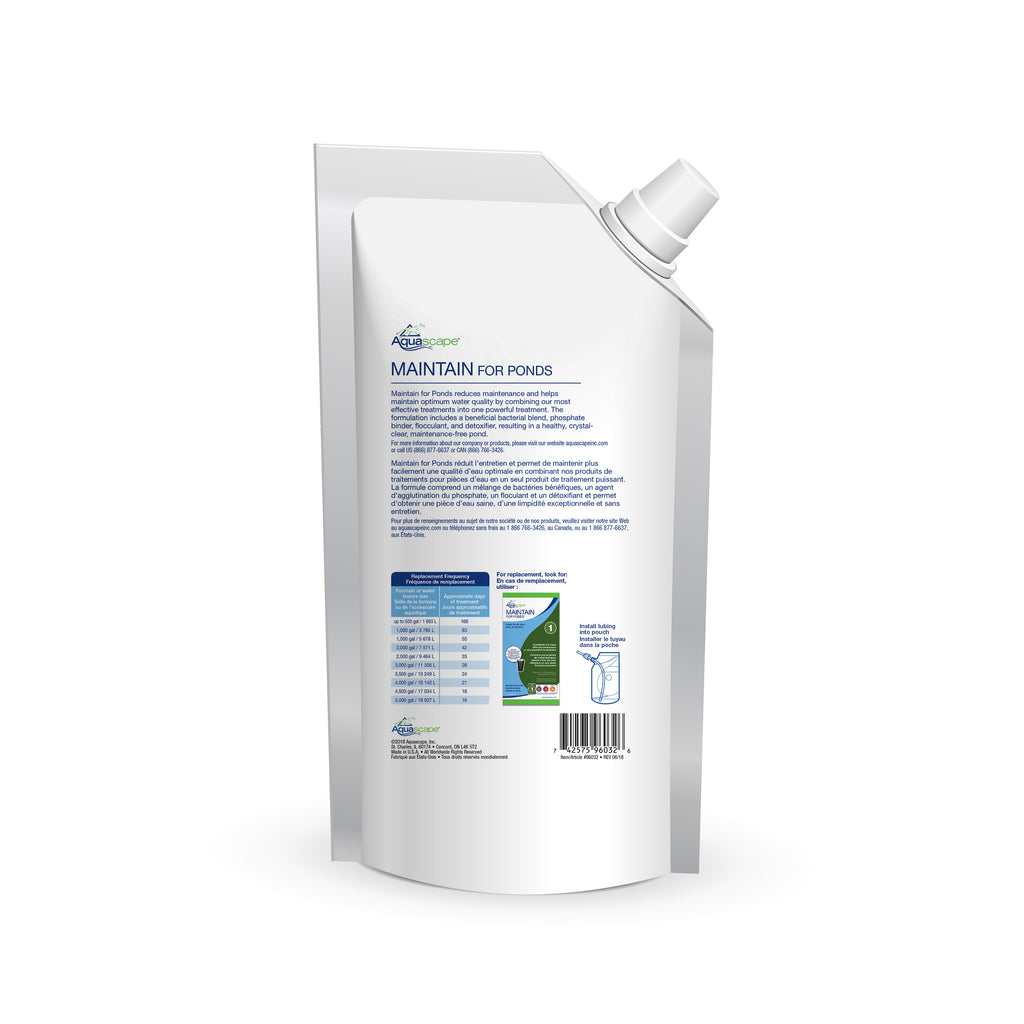 Refill - Maintain for Ponds - Water Treatment Replacement - UK - WaterFeature.Shop