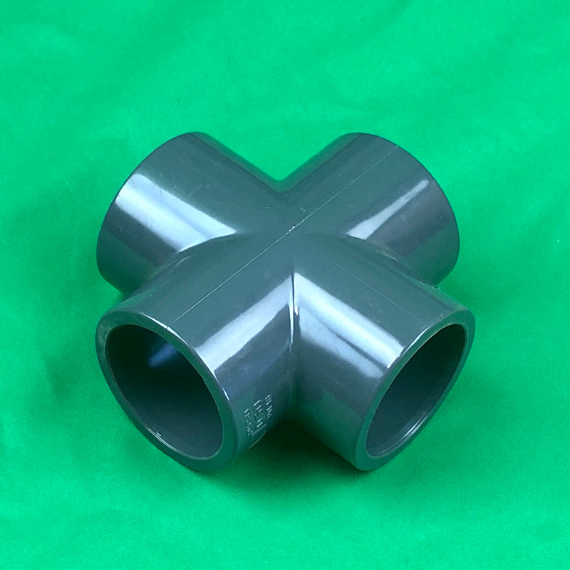 50mm Cross Solvent Slip - WaterFeature.Shop
