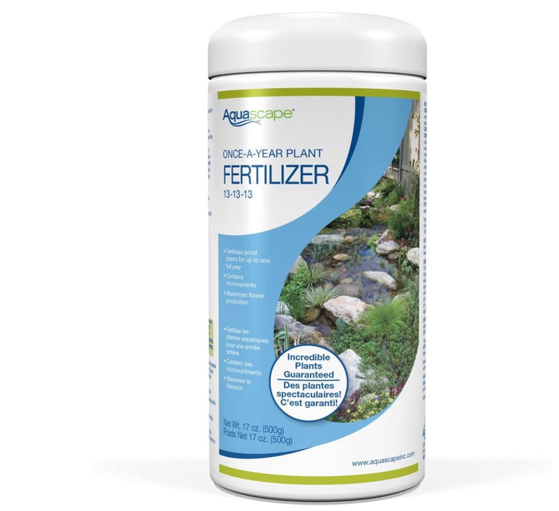 Aquascape UK Once-A-Year Fertiliser 13-13-13 500g - WaterFeature.Shop
