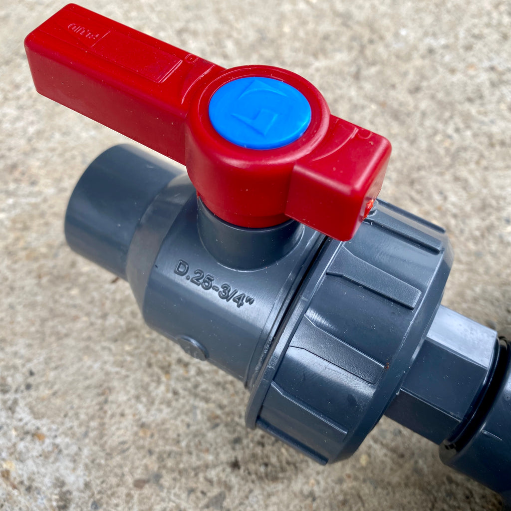 25mm Solvent Socket - Ball Valve - WaterFeature.Shop