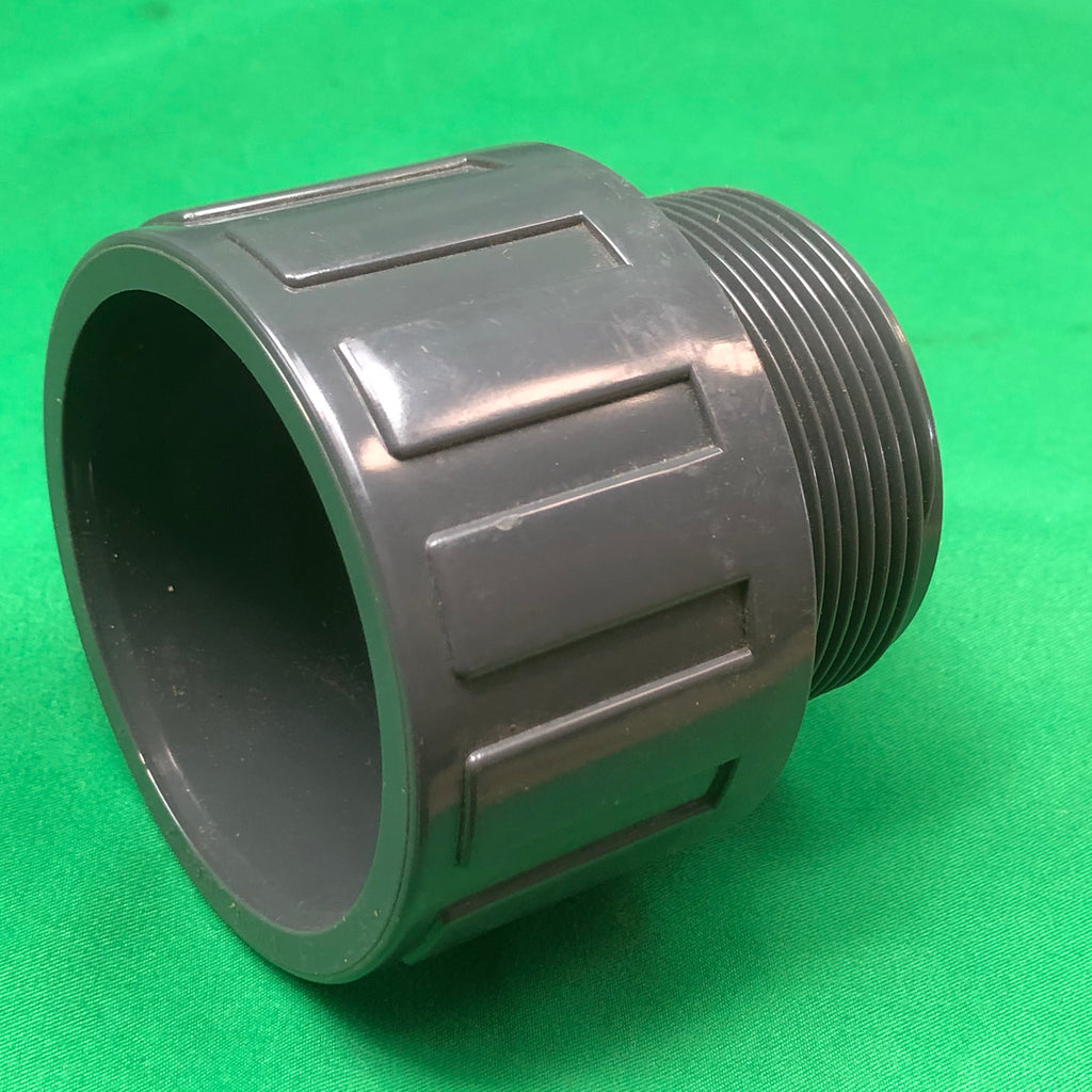 "2"" Male to 63mm Slip Adaptor Bush - WaterFeature.Shop"