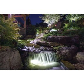 Aquascape UK Garden and Pond 1-watt LED Waterfall and Up Light - WaterFeature.Shop