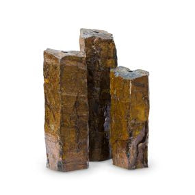 Aquascape UK Natural Mongolian Basalt Columns Set of 3 - WaterFeature.Shop