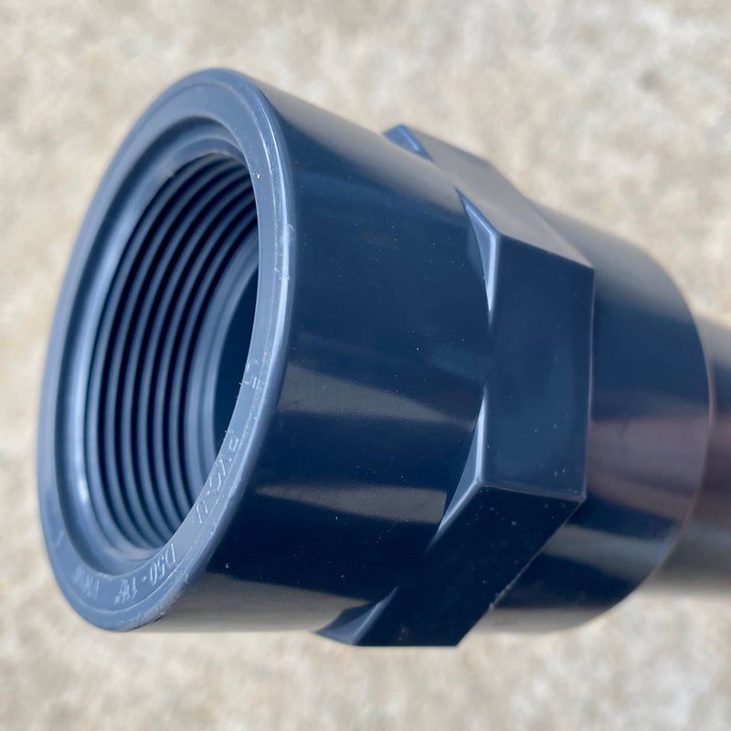 "50mm Slip - 1 1/2"" Female Thread - WaterFeature.Shop"
