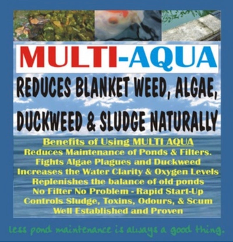 Multi Aqua Sachets - Beneficial Pond Bacteria - WaterFeature.Shop