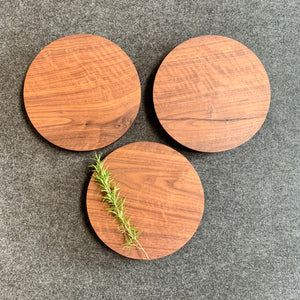 Walnut stands