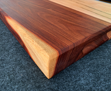 Load image into Gallery viewer, Granadillo, Sapele, and Ambrosia Maple 19 x 15 x 2