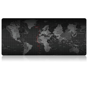 Extra Large World-Map Extended Gaming Mouse Pad