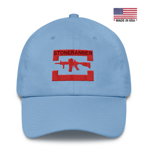Rifle Cotton Cap - Carolina Blue